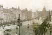 452 - The north-eastern side of Wenceslas Square as seen from the corner of Vodičkova, probably from the tower of the building U Lhotků